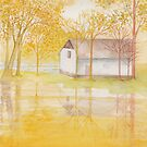 The Simple Little Cottage by AngelArtiste