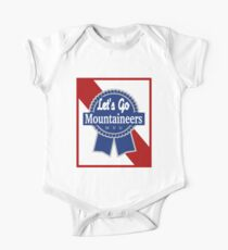 Lets Go Mountaineer Pabst Design One Piece - Short Sleeve