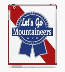 Lets Go Mountaineer Pabst Design iPad Case/Skin