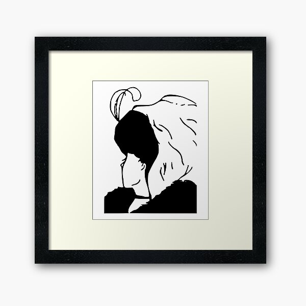 My wife and mother-in-law Framed Art Print