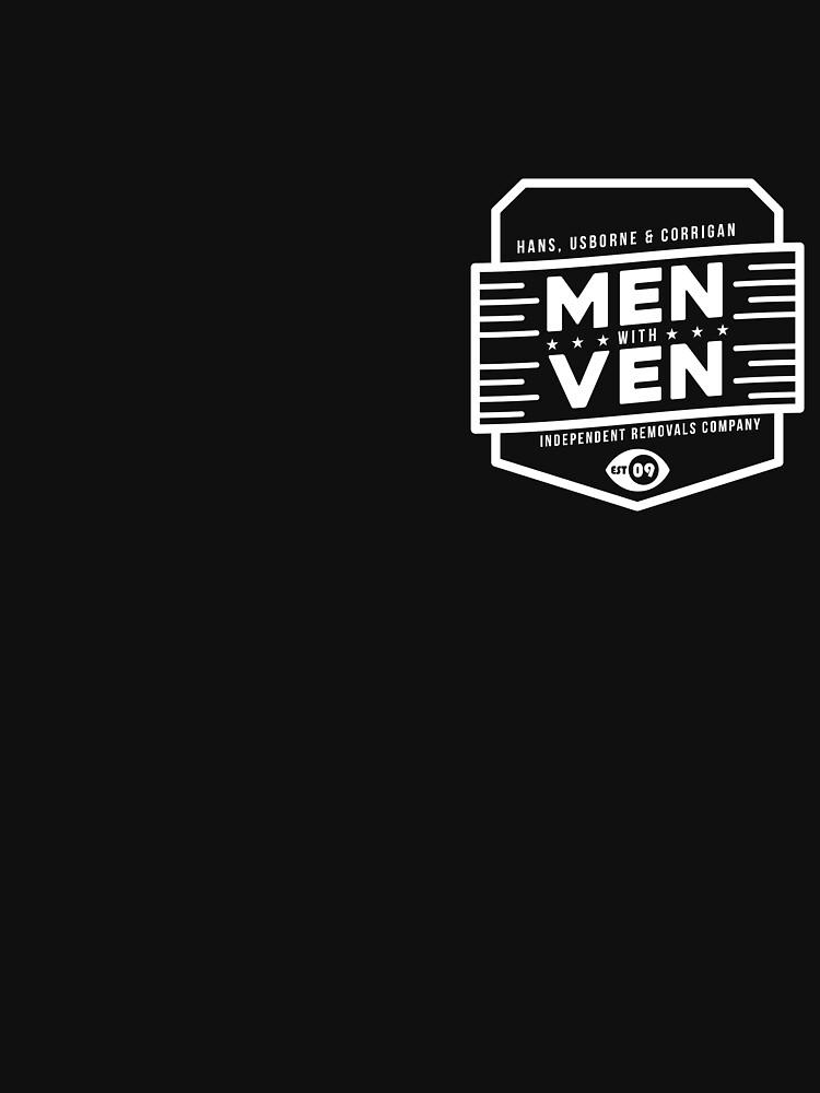 Hombres Con Ven (Arte Blanco) de PrimalMistry