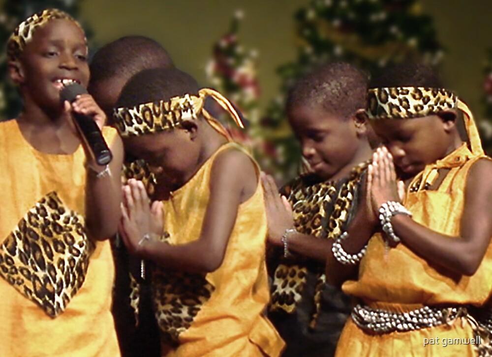 African Children's Choir by pat gamwell