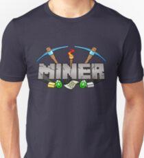 Minecraft Miner Shirt v.2 Slim Fit T-Shirt