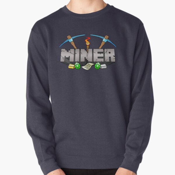 Minecraft Miner Shirt v.2 Sweatshirt épais