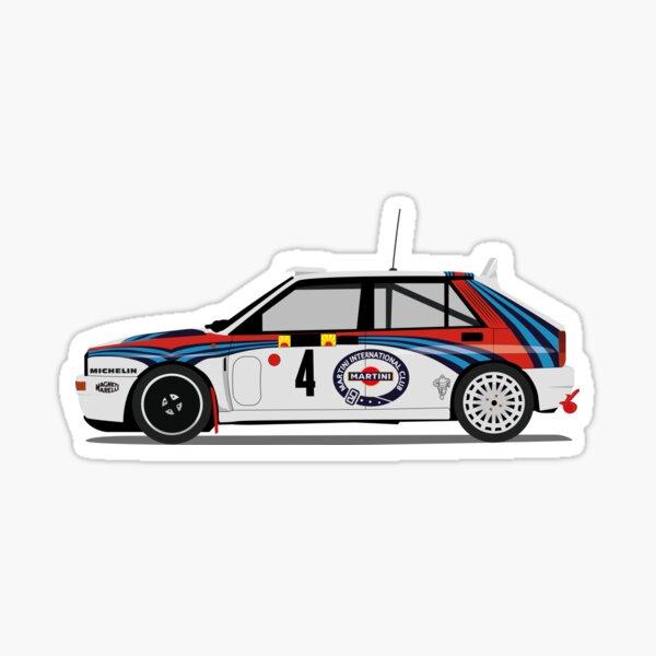 Lancia Delta Martini 1992 Pegatina