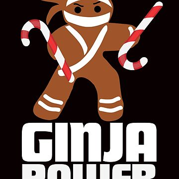 Baking Ninjas Christmas Cookies & Gingerbread Christmas T-Shirts Gifts by teemaniac