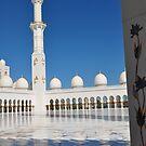 JUMEIRAH MOSQUE, DUBAI CITY, UNITED ARAB EMIRATES DESIGNED MARBLE OUTDOOR AREA by JAYMILO