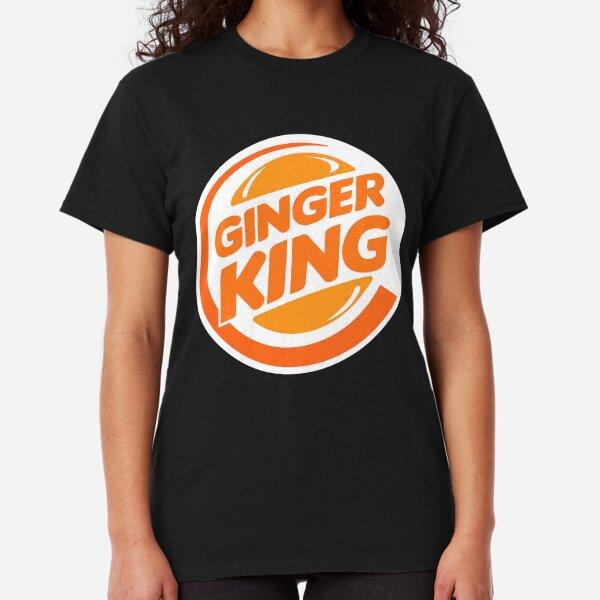Ginja Ninja Drôle T-shirt Homme Nouveauté Ginger Blague slogan humour femme cadeau top