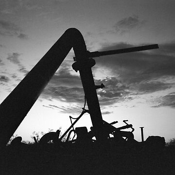 Dawn at the metal dump by daddypub