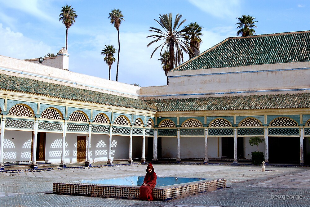 Young Boy in Moroccan Palace by bevgeorge