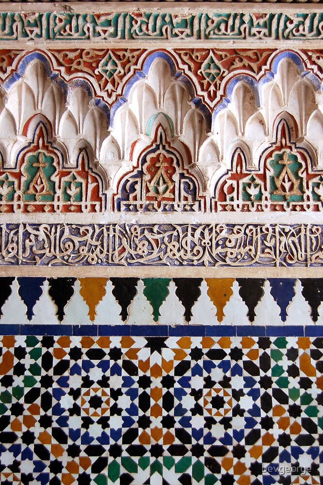 Moroccan Tile Design by bevgeorge