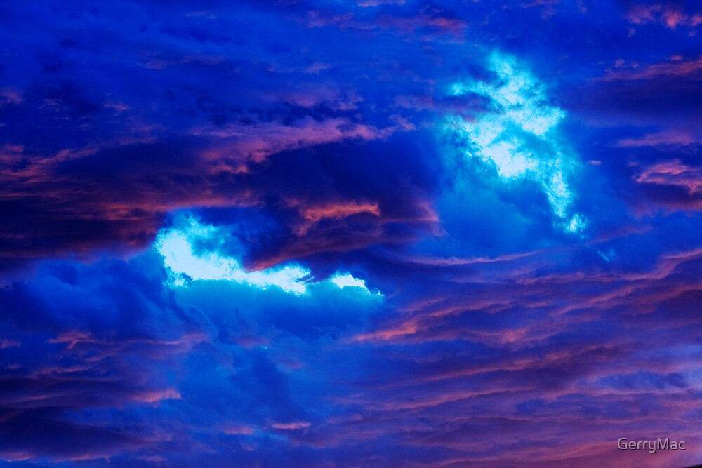Blue Above... by GerryMac