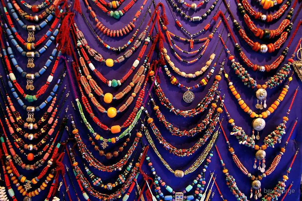 Moroccan beads by bevgeorge
