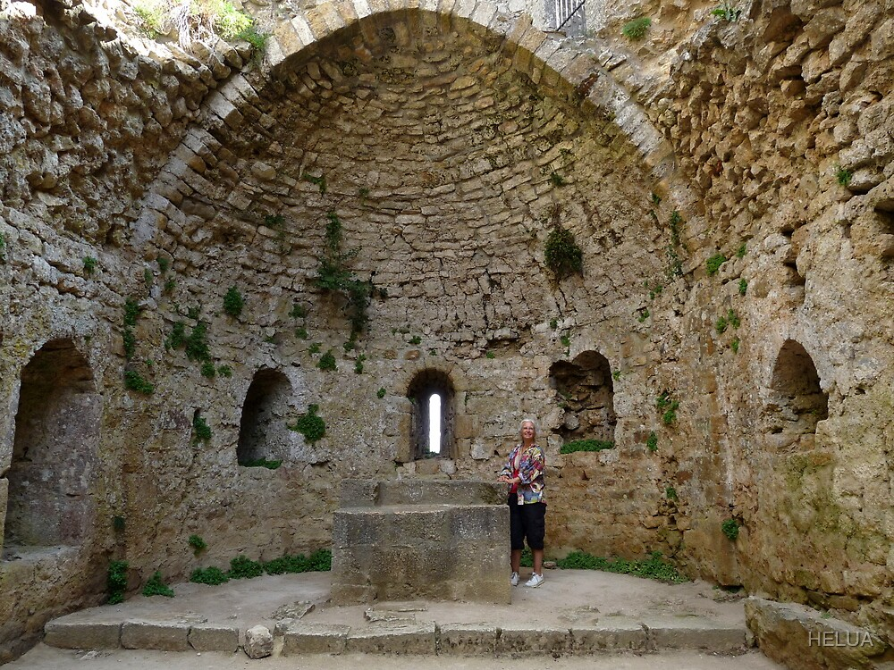 Ruins of the Mary Chapel of Peyperituse by HELUA