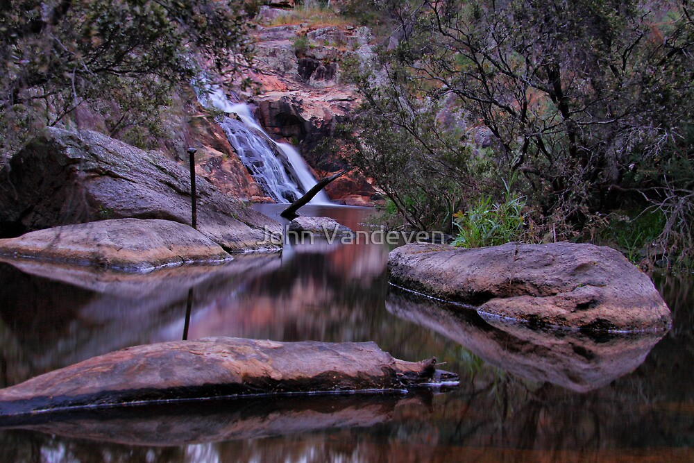 Woolshed Falls 2 by John Vandeven