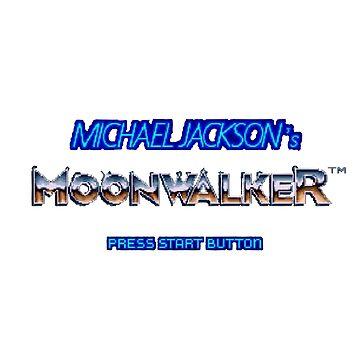 Moonwalker Press Start Button by loganferret