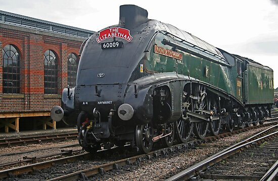 A4 Pacific Class - Union of South Africa by RedHillDigital