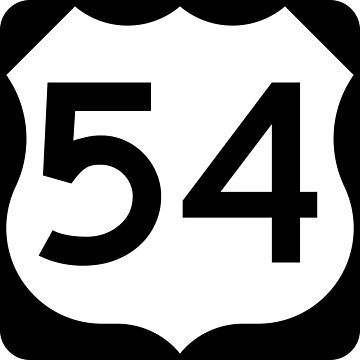 US Highway Route 54 by Joeybab3