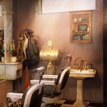 Barber - Basement barber by mikesavad