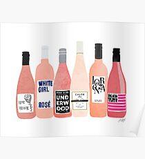 Rose Bottles Poster