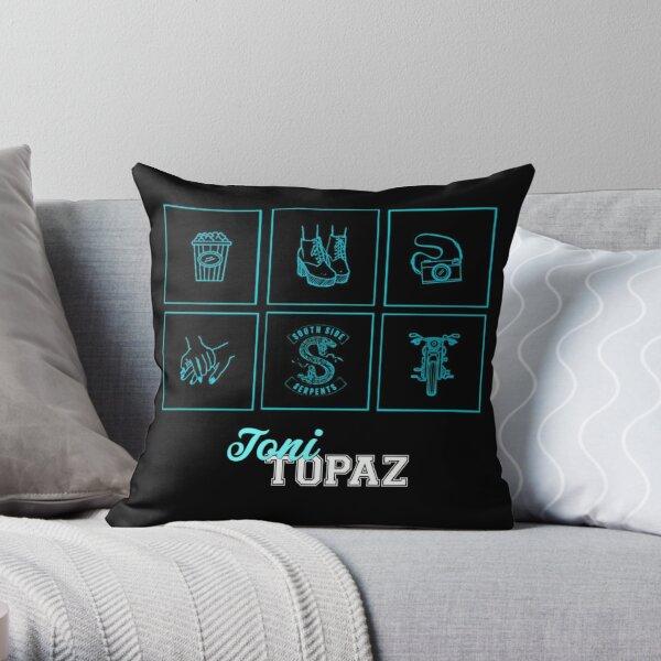 Riverdale minimalistic • Toni Topaz Coussin