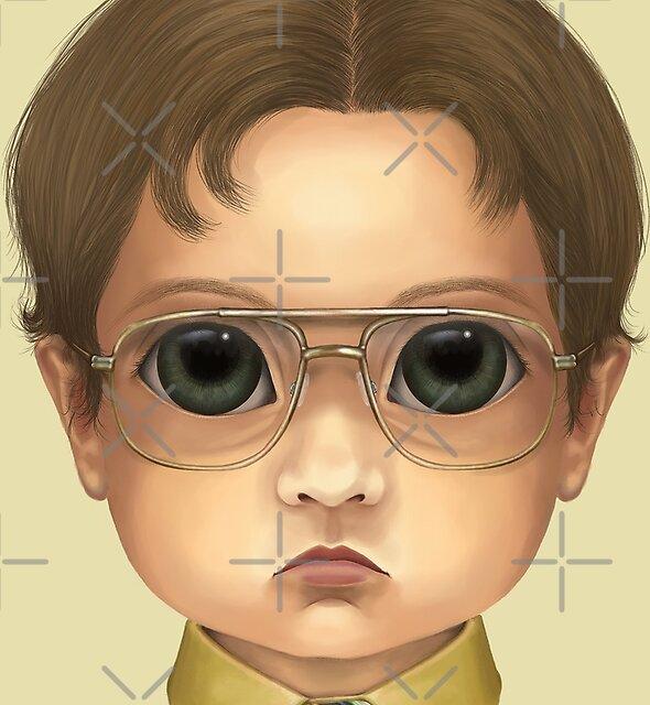 Dwight (Bitty Baddies) by Jody  Parmann