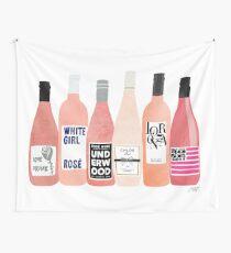 Tela decorativa Botellas de rosa