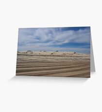 Stockton Beach Greeting Card