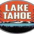 Lake Tahoe California Nevada Ski Boating Skiing Boat by MyHandmadeSigns