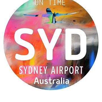 SYD Sydney art by Aviators