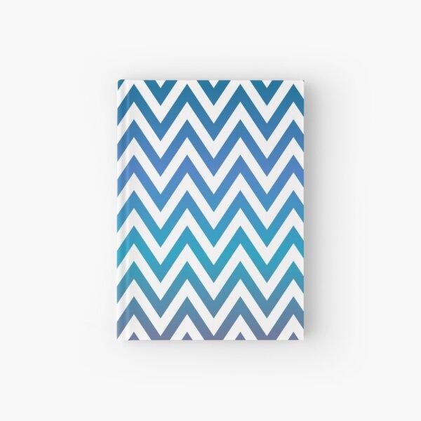 Multi-Color Zig Zag Pattern Hardcover Journal