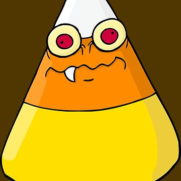 Candy Corn Monster by DemBoysTees