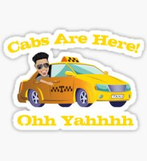 Funny Cabs Are Here with DJ Pauly D from the Jersey Shore Ohh Yahhh Sticker