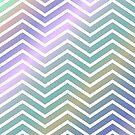 Pastel Multi-Color ZigZag Pattern by livejoytoday