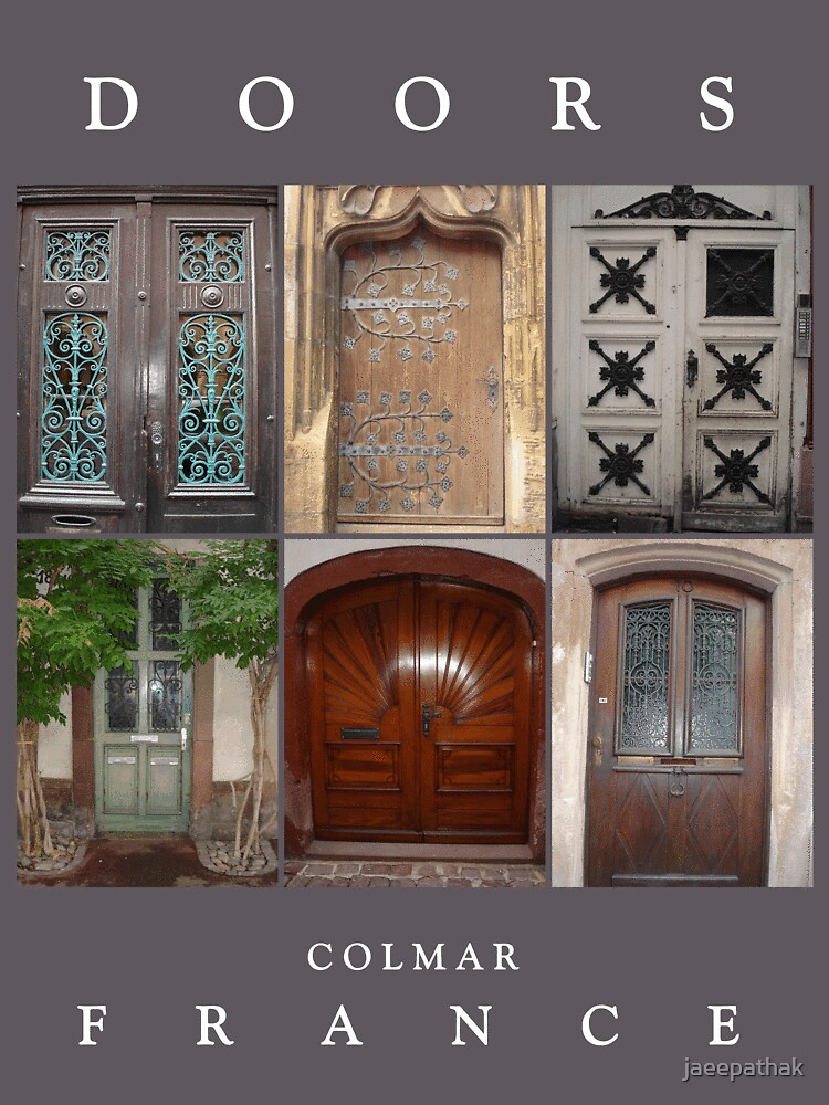 Doors in Colmar, France by jaeepathak