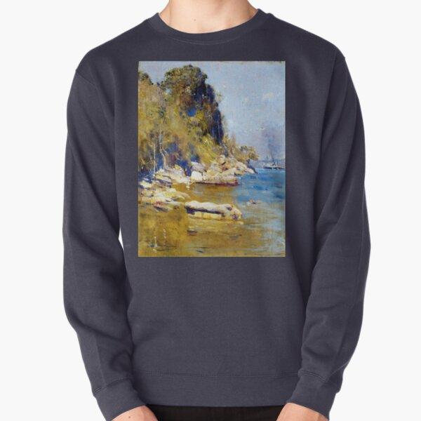 Arthur Streeton From My Camp (Sirius Cove) Pullover Sweatshirt