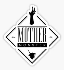 Mother Monster Badge Sticker