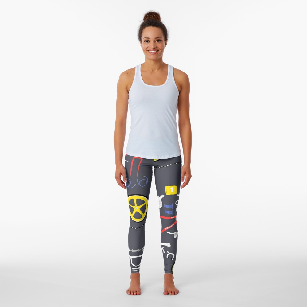 BMX Parts Leggings