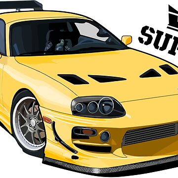 Toyota supra by Neppster123