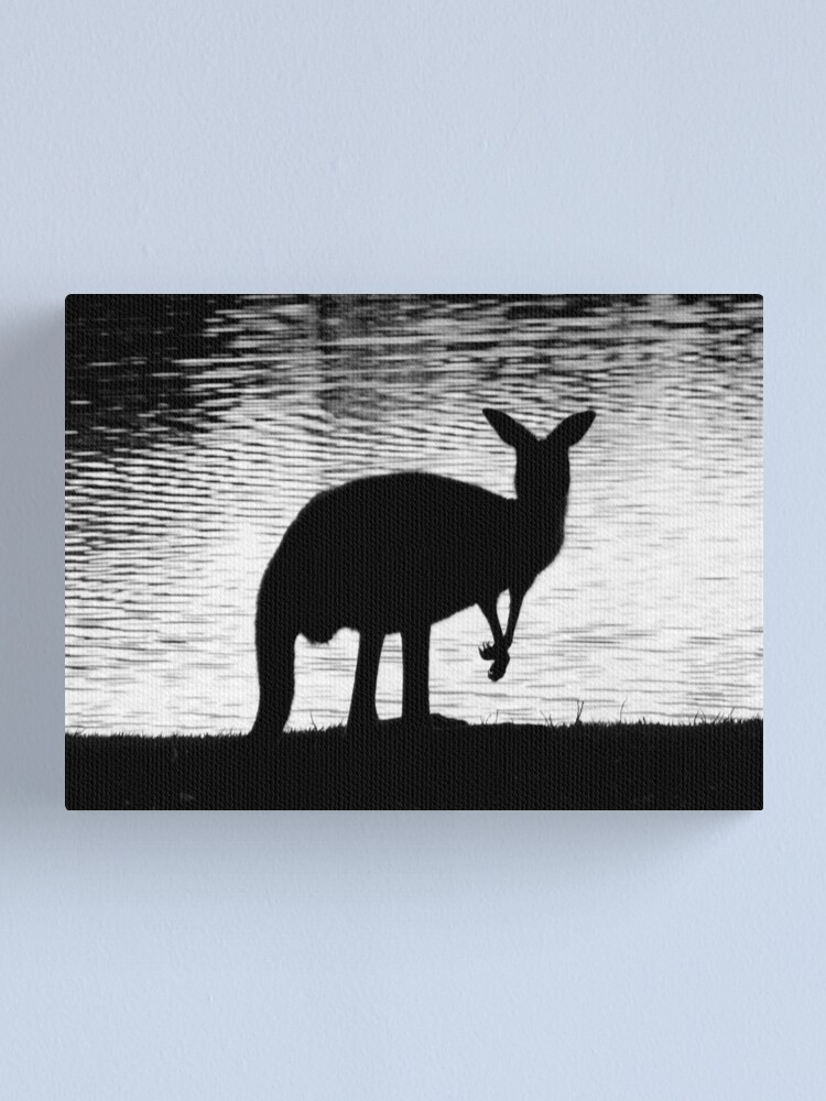 Alternate view of Little Roo'd Canvas Print