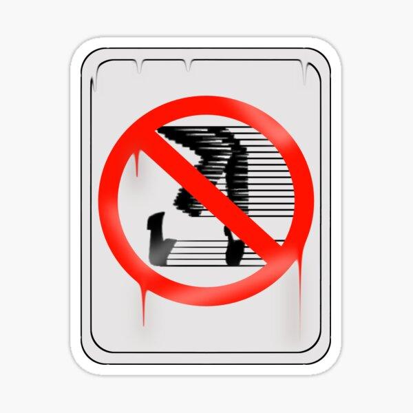 MJJ No Dancing Sticker
