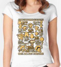 Alien Statistics Women's Fitted Scoop T-Shirt