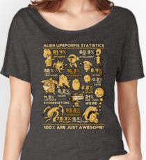 Alien Statistics Women's Relaxed Fit T-Shirt