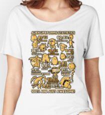 Alien Statistics Women's Relaxed Fit T-Shirt