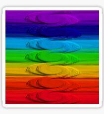 Namaste Rainbow Sticker