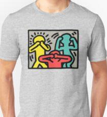 Logo Keith Haring Unisex T-Shirt