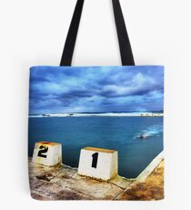 Merewether Dawn Swimmer Tote Bag