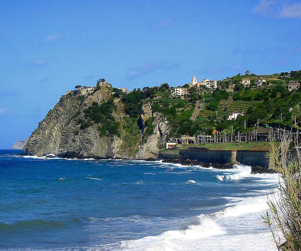 italian coast by Gary Mannix