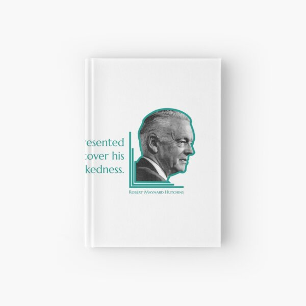 Intellectual Nakedness Hardcover Journal