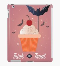 Trick or Treat Fledermäuse oder Brötchen iPad-Hülle & Klebefolie